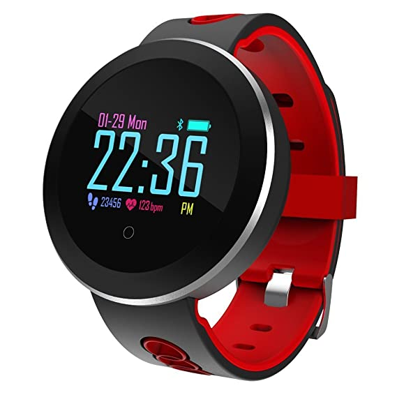 Amazon.com: RBSTYLE Smart Watch Waterproof Bluetooth Fitness ...