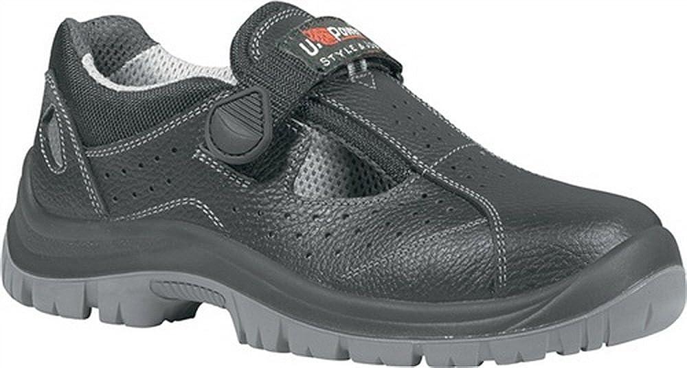 Sicherheits Sandale EN ISO 20345 S1P SRC Alligator Gr. 46 Rindleder ...