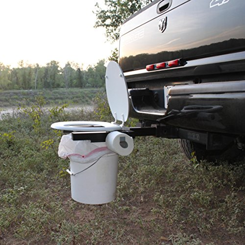 Potty Pickups - Bumper Dumper The Original Hitch Mountable Portable Toilet (Made In USA)