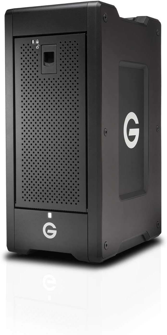 G-Technology G-Speed Shuttle XL Thunderbolt 3 Unidad de Disco Multiple 48 TB Torre Negro G-Speed Shuttle XL Thunderbolt 3, Unidad de Disco Duro, 48 TB, Unidad de Disco Duro, SSD, 96 TB,