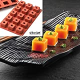 Cuisineonly - Moule silicone 15 sushis makis sushi