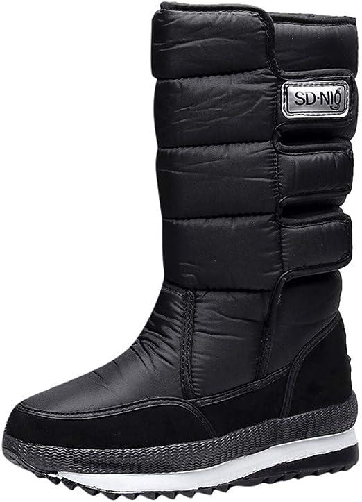 Snow Boots Men's Warm Hook Winter Boots