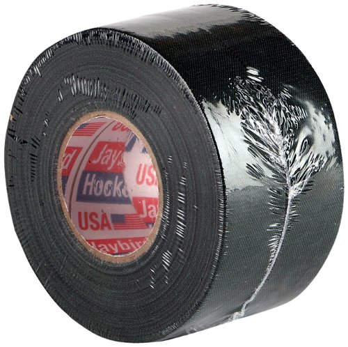 Jaybird & Mais Black Cloth Hockey Tape, 1' x 25 yards (2-Pack)