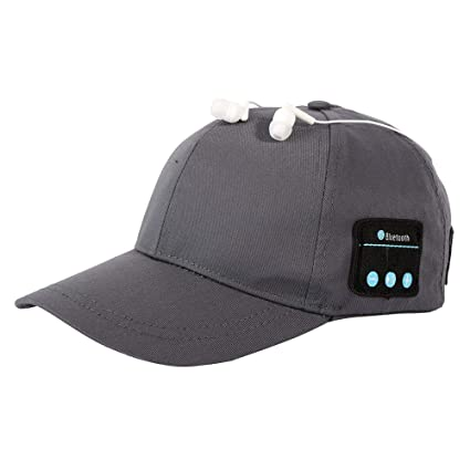 LETAMG Bluetooth Hat Gorra para Correr de béisbol Bluetooth 3.0 ...