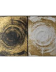 لوحة فنية جدارية مطبوعة على قماش الكانفاس القطني مثبتة على إطار مخفي 120X90