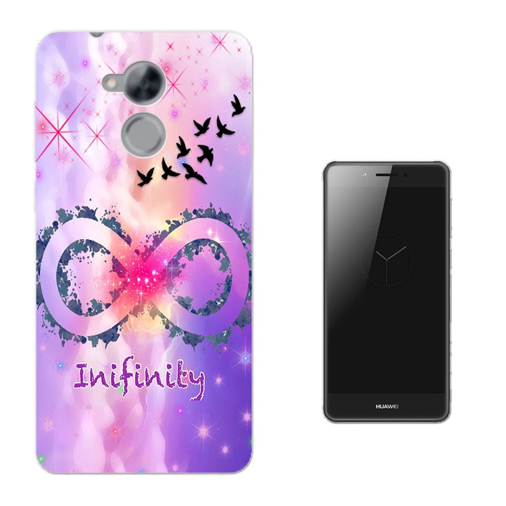 Amazon.com: 002888 - Infinity Galaxy Colours Swallows Flying HUAWEI Nova Smart 5