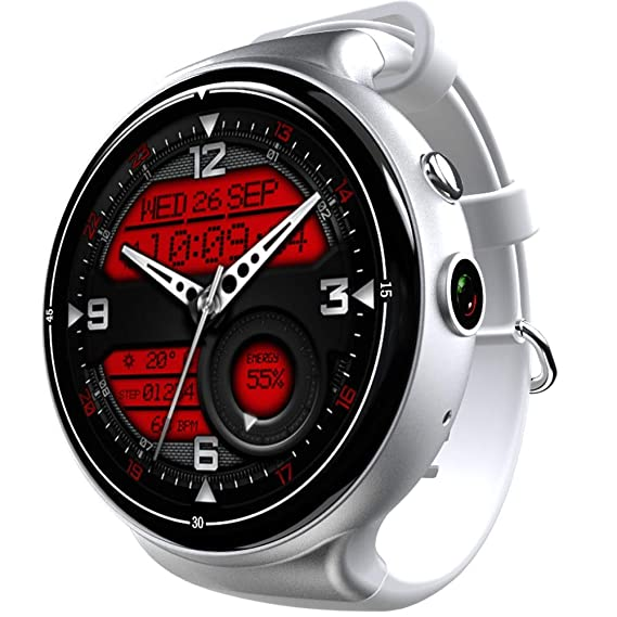 Amazon.com: Smart Watch MTK6580 2Gb+16Gb 3G+GPS+WiFi 400Mah ...