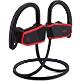 Sport Bluetooth Headphones, Sbode Wireless Earbuds with Microphone, Richer Bass and Hi-Quality Sound in-Ear Earphones w/Mic, Waterproof IPX7, 7-9 Hrs Playtime Noise Cancelling(Comfy & Secure Fit)