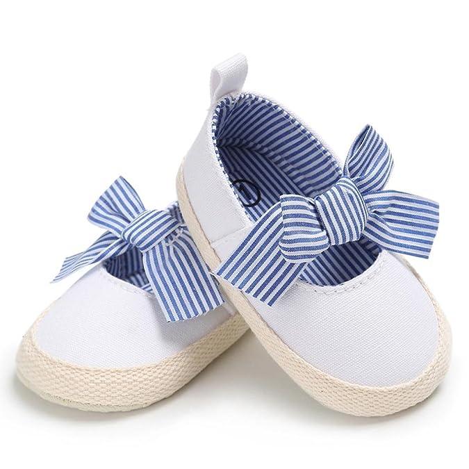 Longra Bébé Fille garçon Unisex Toile Des sandales Chaussures premiers pas  Princesse Chaussures de bébé  Amazon.fr  Chaussures et Sacs 7e32e9405b32