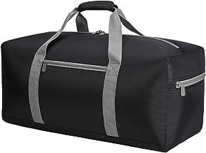 Foldable Duffel Bag 22 inch Small Lightweight Luggage for Travel Gym Sport