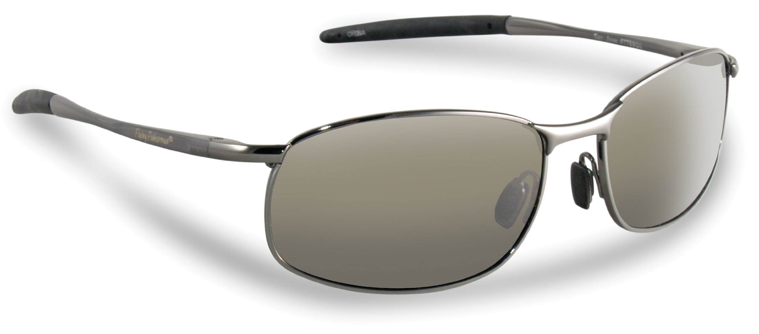 f0caec1bfa Galleon - Flying Fisherman 103578 San Jose Polarized Sunglasses (Gunmetal  Frame