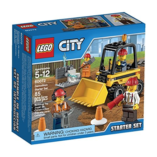 LEGO City Demolition Starter Set (60072) (Lego Bulldozer)