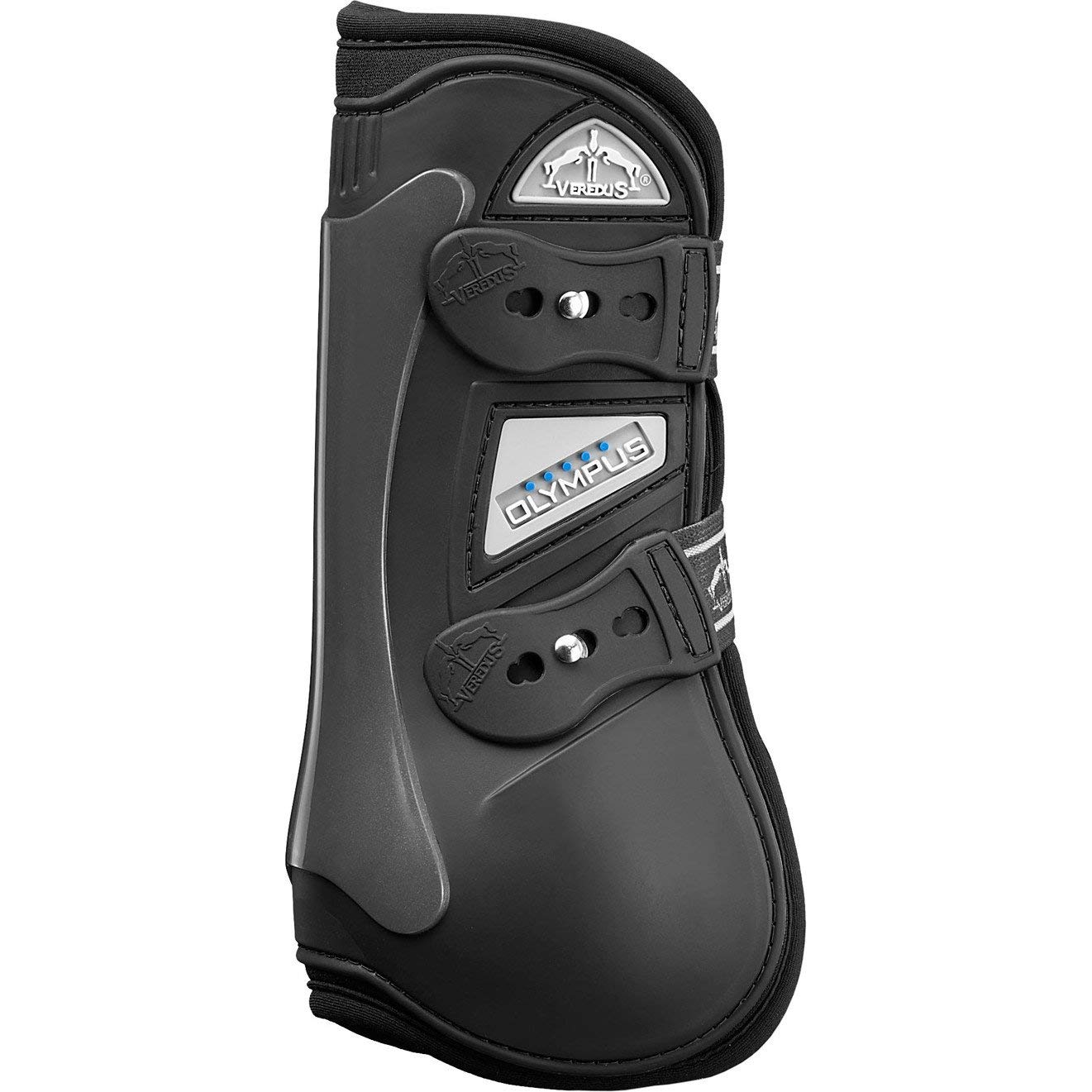 Veredus Olympic Olympus Front Tendon Boot For Horses Black Or Brown Black Large (Horse)