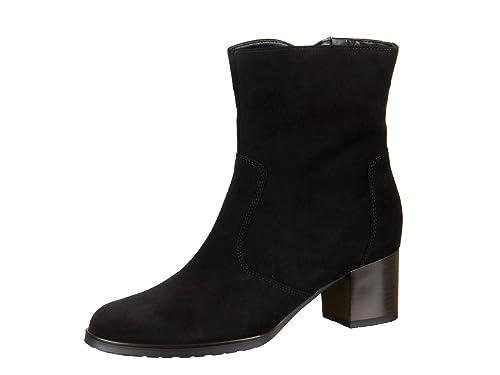 Damen Stiefeletten Ara Chelsea Boots Schwarz Stiefeletten
