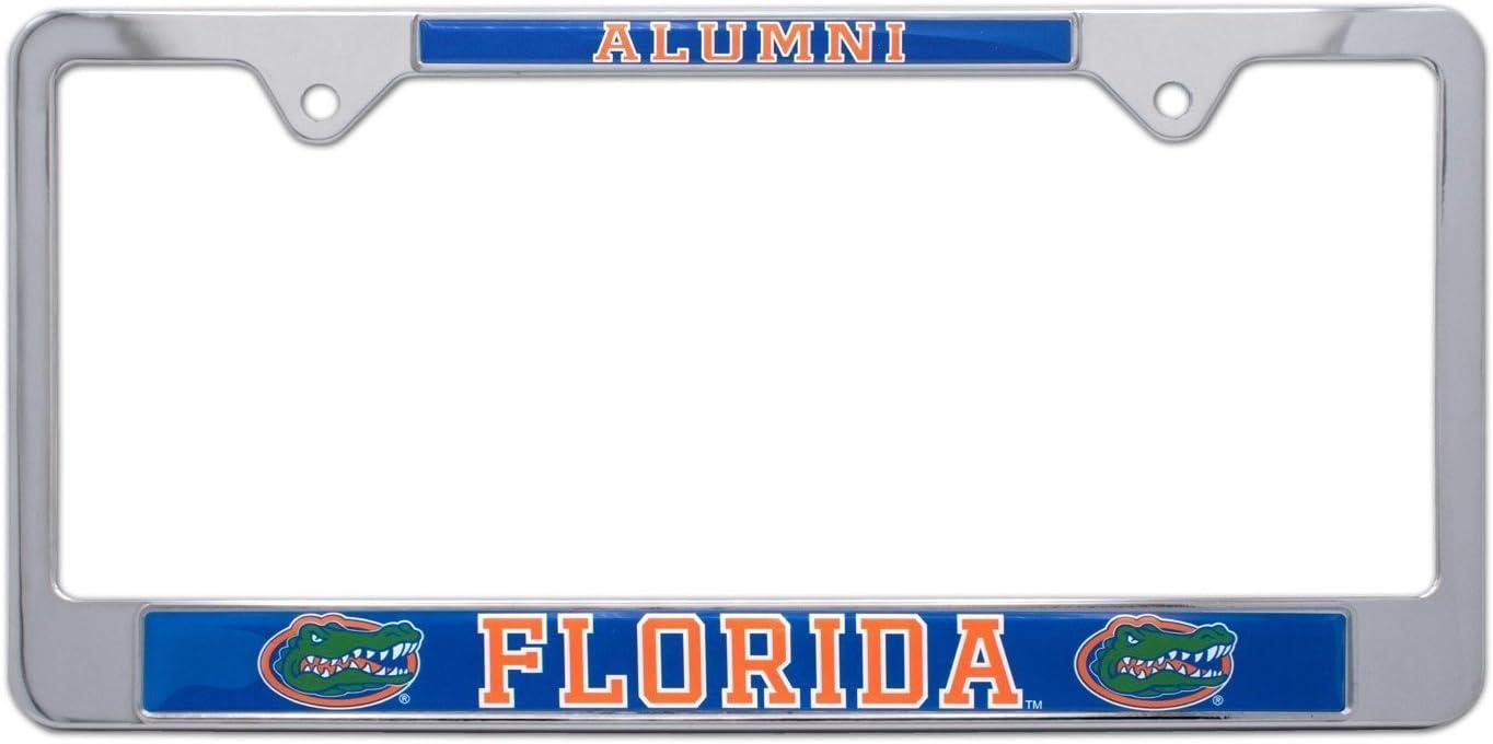Florida All Metal NCAA Gators Alumni License Plate Frame