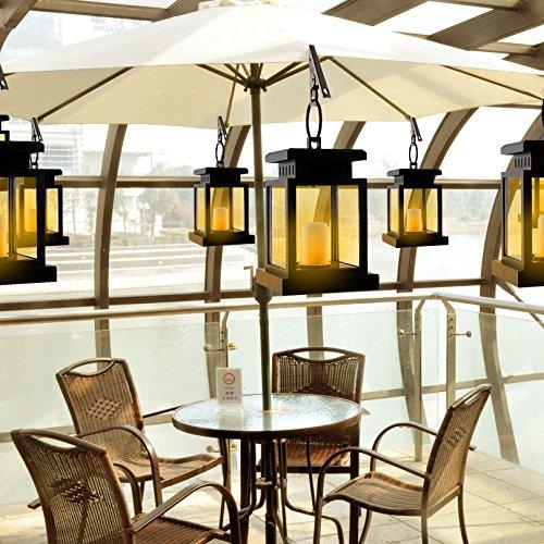 Solar Power Lantern Vintage Lamp