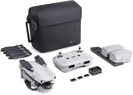 Opinión sobre DJI Mavic Air 2 Fly More Combo y Care Bundle - Drone, Cámara 48 MP 4K, Estabilizador de 3 Ejes, 34 min de Vuelo, DJI Care Servicio de Sustitución Activado Automáticamente Exclusivamente para Amazon