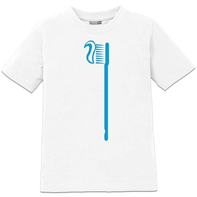 Camiseta de niño Cepillo de dientes by Shirtcity: Amazon.es: Ropa y accesorios