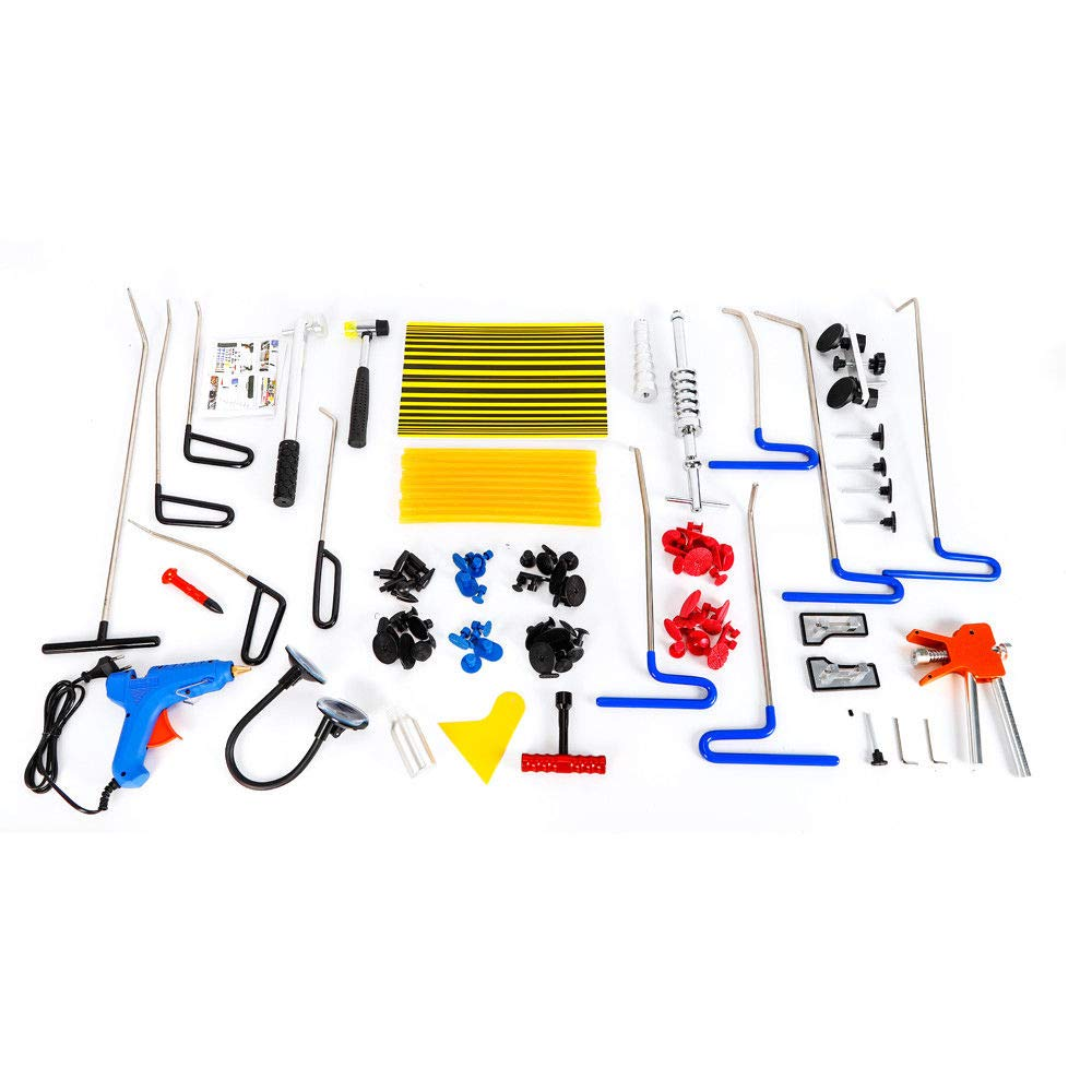 Kit di Riparazione per ammaccature SENDERPICK Kit di estrattori per Auto 104 Pezzi