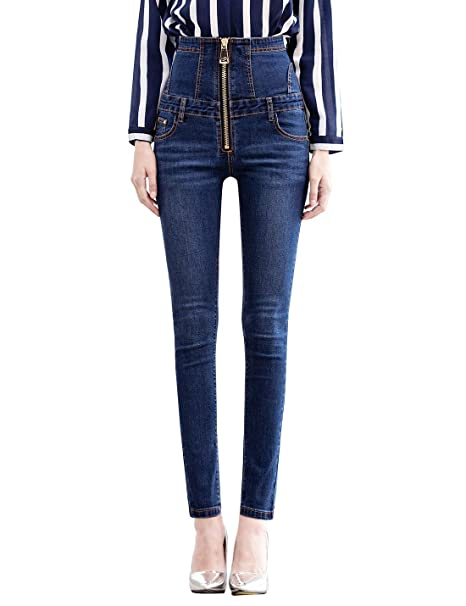Women/'s Skinny Jeans Stretch SOFT COTTON POLYESTER Pants Comfortable