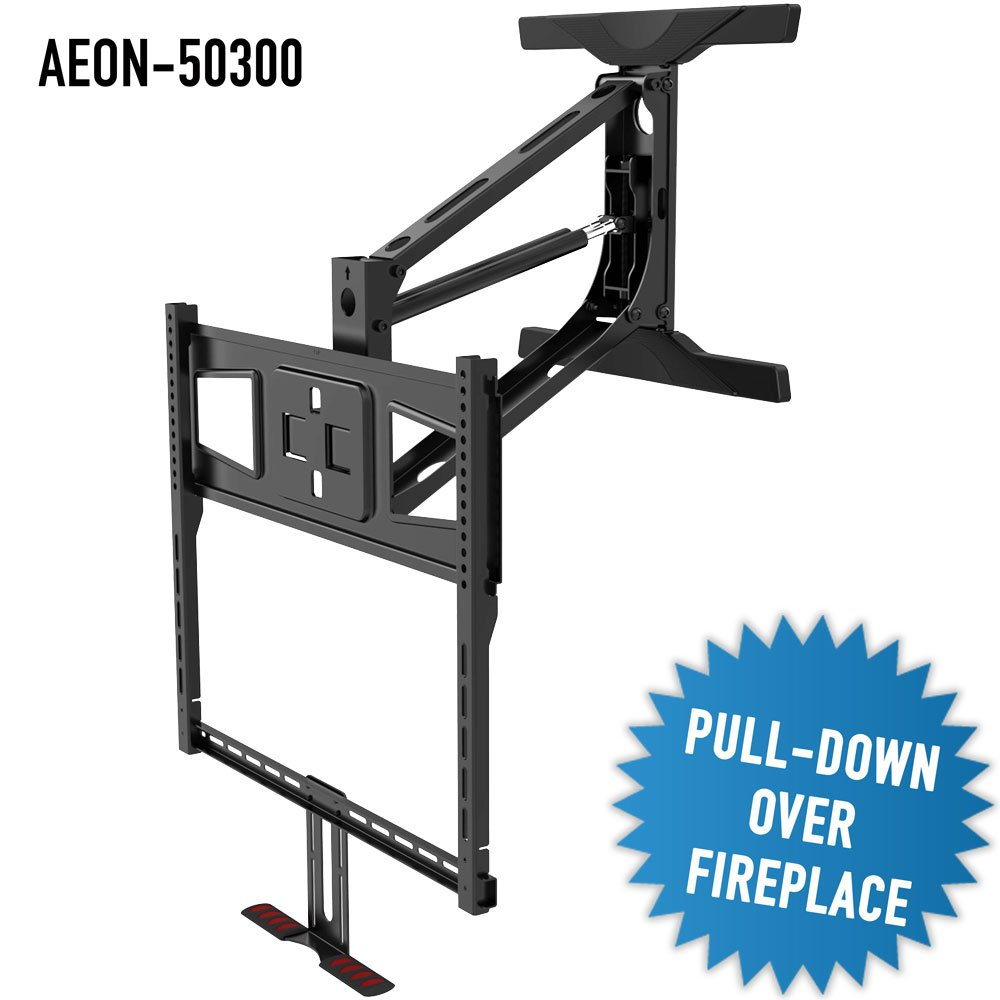 Pull down tv mount over fireplace ebay - Pull down tv mount over fireplace ...