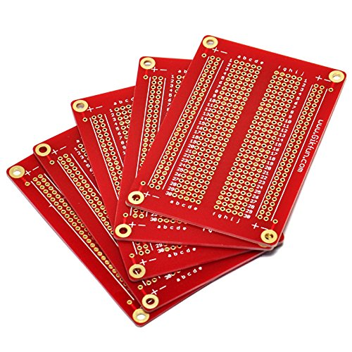 Gikfun Solder-able Breadboard Gold Plated Finish Proto Board