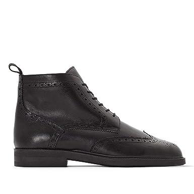 6f4f59c709b6d Amazon.com: La Redoute Collections Mens Jonny Leather Lace-Up Ankle ...