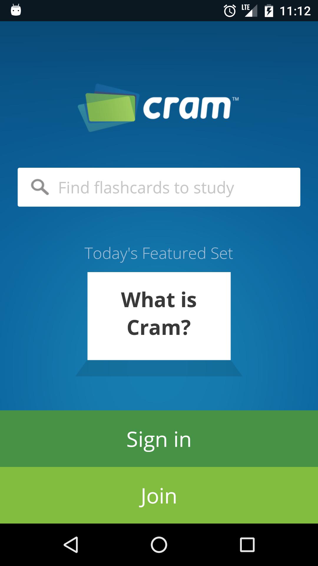 Digital flashcards study