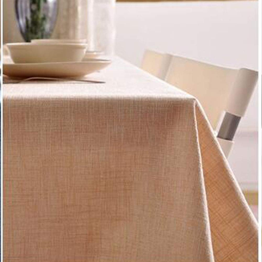 Tavolo da Pranzo Tovaglia Tinta Unita Cotone Polvere Polvere-Prova Ristorante Giardino Hotel Tovaglie Ristorante-a 70x70cm qwert Tovaglia Rettangolare 28x28inch