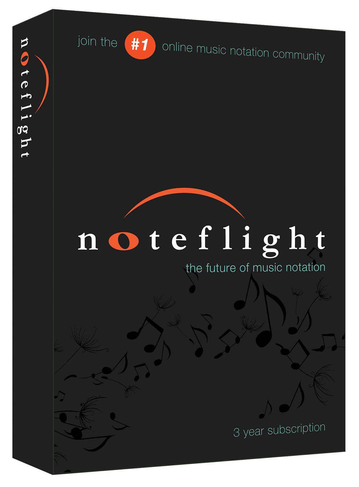 Noteflight 3 Year Subscription Retail Box