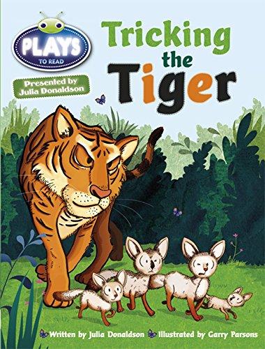 Julia Donaldson Plays Turq/1B Tricking the Tiger 6-pack BUG CLUB ...