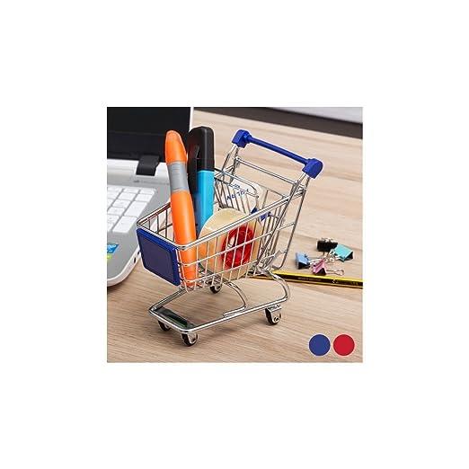 Carrito de compra, metálico, miniaturizado: Amazon.es: Deportes y aire libre