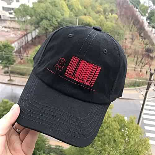 3178a60032e hat Cap Women Girls Spring Summer Cartoon Figures Embroidered Base Visor  Men Man Fashion Tide Unique