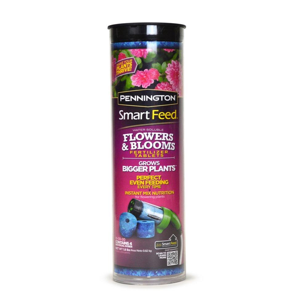 Pennington 4-Pack Smart Feed Sprayer System Flower and Blooms Tablets for Fertilizer