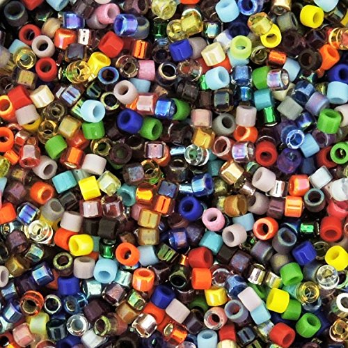 Miyuki Delica Seed Beads Size 11/0 Colorful Super Mix