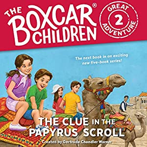 The Clue in the Papyrus Scroll Audiobook
