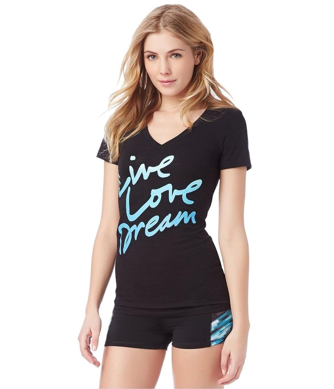 Aeropostale Womens Lld Script Graphic T-Shirt
