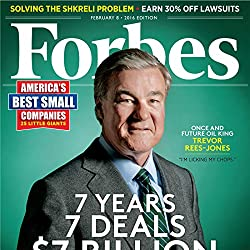 Forbes, February 08, 2016
