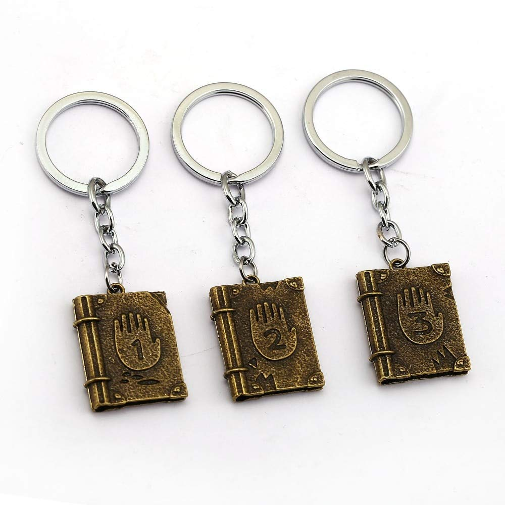 Value-Smart-Toys - Gravity Falls Journal III Keychains Metal ...