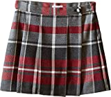 Dolce & Gabbana Kids Girls' Back to School Quadricheck Tartan Skirt (Little Kids), Red Print, 4T Toddler