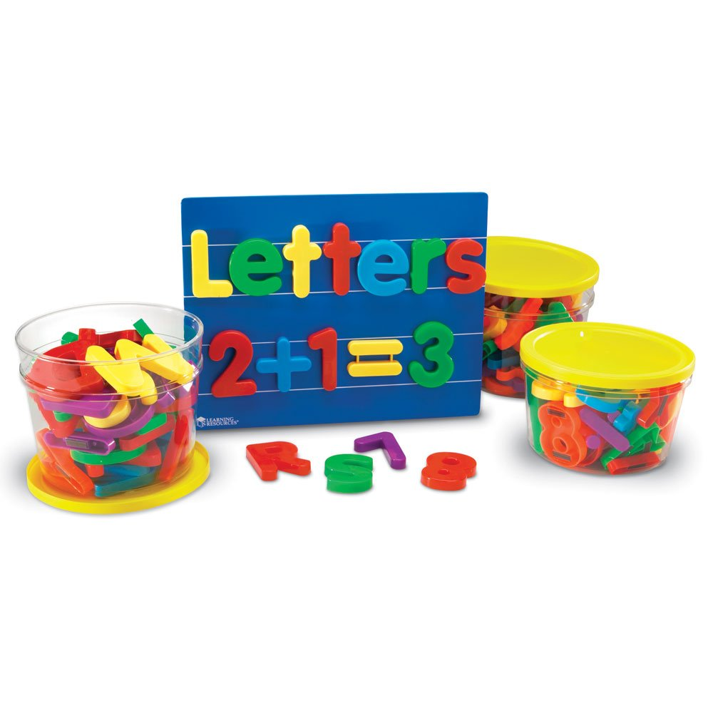 Amazon Learning Resources Jumbo Magnetic Letters & Numbers