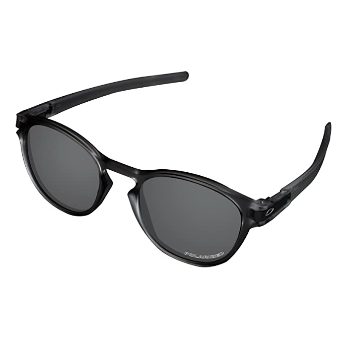 5d829092d8 Amazon.com  Tintart Performance Lenses Compatible with Oakley Latch  Polarized Etched-Carbon Black  Clothing