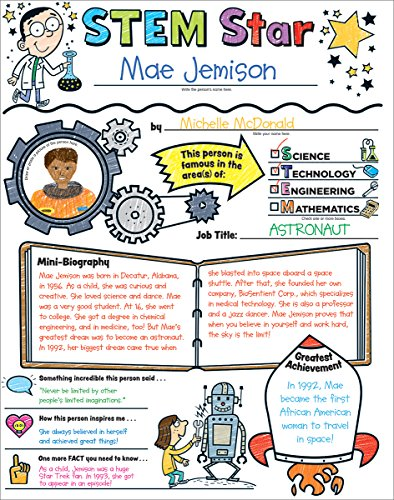 (Personal Poster Set: STEM Star: Write-and-Read Learning Posters Ready for Kids to Display With Pride!)