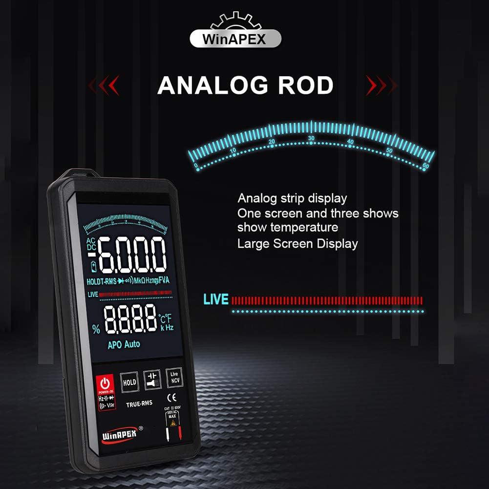 6000 contatore digitale automatico multimetro digitale DC Multimetro digitale