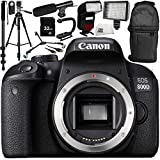 Canon EOS 800D DSLR Camera (Body Only) 13PC Accessory Bundle – Includes 32GB SD Memory Card + Universal Wireless Shutter Release Remote + MORE - International Version (No Warranty)
