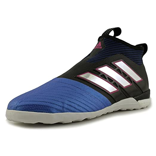 adidas Ace Tango 17+ PureControl IN Shoe Mens Soccer 8.5 Core Black-White-