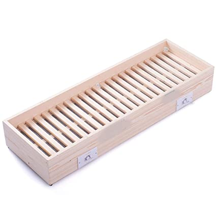 KFXL Calentador, todo de madera maciza Calentador de pie doméstico Calentador de fuego Tostador de ahorro ...