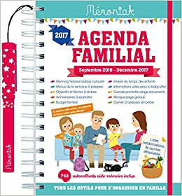 Agenda familial Mémoniak 2016-2017: Amazon.es: Collectif ...