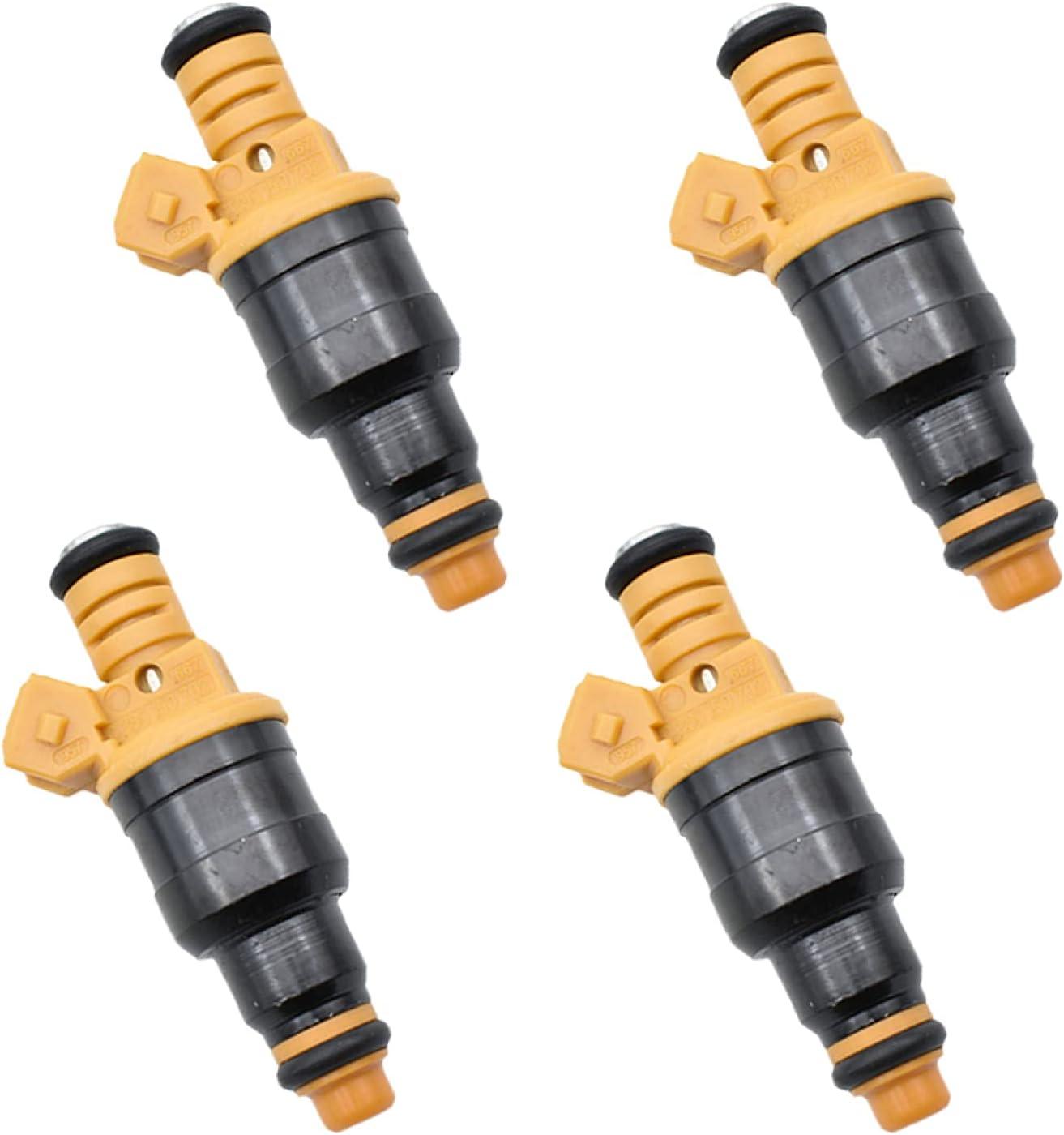 GLLXPZ 4pcs/Lot 0280150702 Kits de Gasolina para Coche Inyector de Combustible, para Alfa Romeo 155156164 2.5 3.0 V6