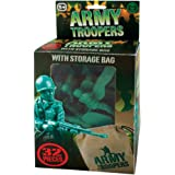 Key Army Soldiers with Store Bag, 32 Piece